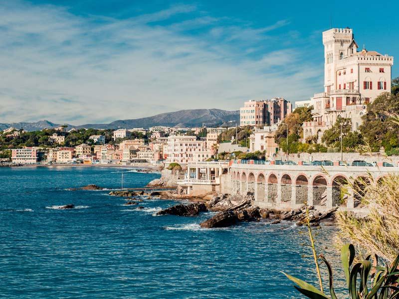Genoa-beach