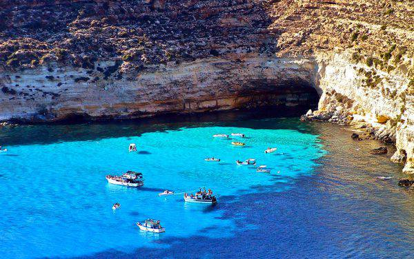 Cala Tabaccara - Lampedusa (Luca Siragusa, CC-BY 2.0 Flickr)