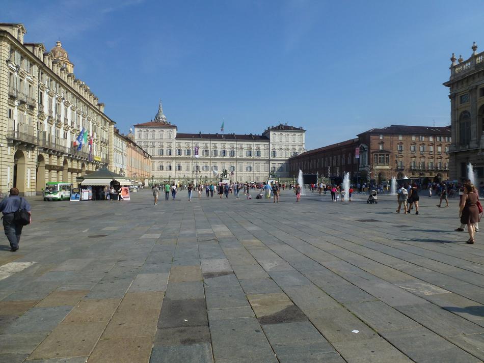 Turin, Italy Castello square