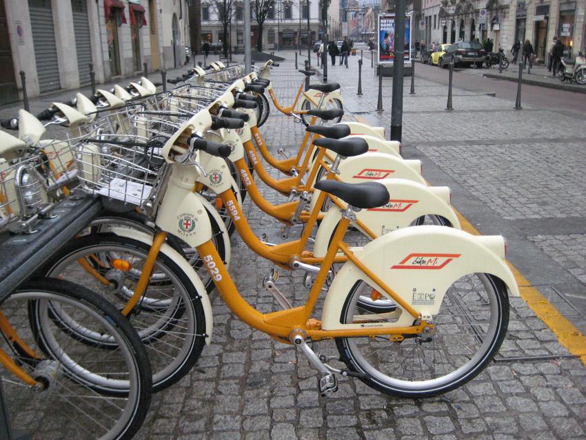 Bike sharing-Milan