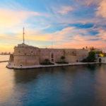 Taranto Castello Aragone, Italy